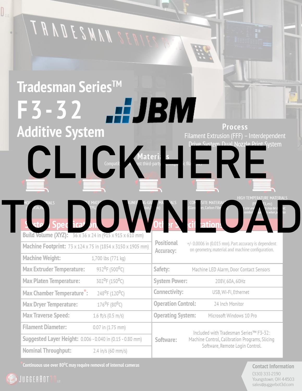 JuggerBot3D F3-32